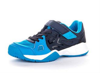 迪卡侬 舒适儿童鞋男女童鞋运动鞋魔术贴耐磨网球鞋JS ARTENGO